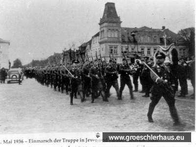 Jever profitierte stark von den Kriegsvorbereitungen der Nationalsozialisten.