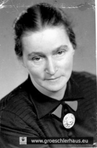 Helene Klüsener geb. Schwabe (1895 Oldenburg - 9. Febr. 1945 Suizid Jever), Foto von ca. 1938