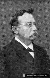 """Der Heimatforscher und Herausgeber von """"Der Friese"""" Friedrich Wilhelm Riemann in einem Foto von ca. 1920 (Archiv H. Peters Wilhelmshaven)"""