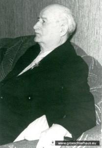 Friedrich Christians gehörte zur Bürger- Delegation an die NSDAP-Gauleitung. (Foto von ca. 1960, Archiv H. Peters)