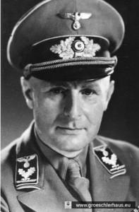 Hans Flügel, Kreisleiter der NSDAP Friesland (Foto von ca. 1942, Archiv H. Peters)