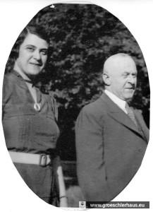 Änne Gröschler und ihr Ehemannn Hermann ca. 1930 (Archiv H. Peters)