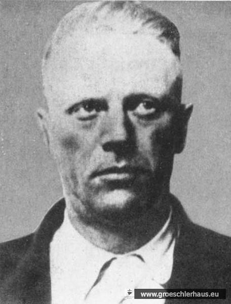 Fritz Suhren, Varel, 1942 bis 1945 Kommandant in Ravensbrück (Foto nach 1945, Sammlung Holger Frerichs).