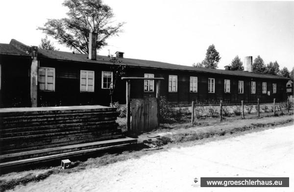 Baracke beim Dünkagel, Jever, ca. 1956. Sammlung H. Zimmermann