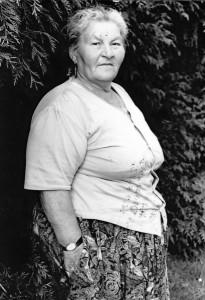 Margot Schwarz geb. Franz wurde als 18jährige von Zetel-Bohlenberge nach Auschwitz verschleppt. Sie starb 1982 in Oldenburg. (Sammlung G. Heuzeroth)