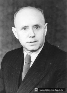 Abb.: Otto Ahlers, 1943-1945 NS-Bürgermeister der Stadt Varel. Foto vor 1945. Sammlung Frerichs.