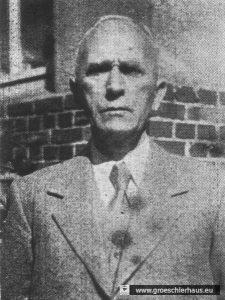 Abb.: Wilhelm Siefken, 1943/44 Leiter Wirtschaftsamt Stadt Varel. Foto nach 1945. Sammlung Frerichs.