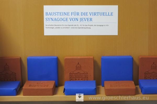"""Die """"Bausteine"""" für die virtuelle Rekonstruktion der jeverschen Synagoge"""